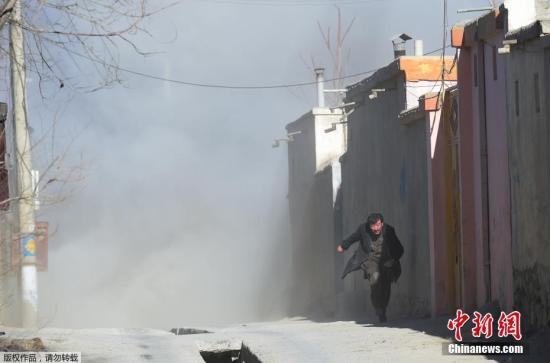 阿富汗首都遭自杀式爆炸袭击已致70余人伤亡