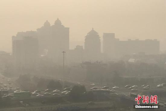 两部门:1至2月中国北方大气污染扩散气候条件偏差