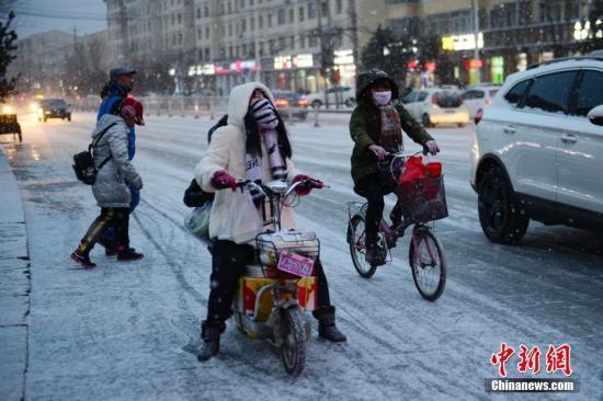 降雪范围减小 中央气象台解除暴雪蓝色预警