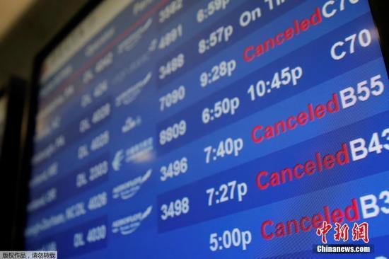 美国宣布11月初放宽国际航班旅客入境限制