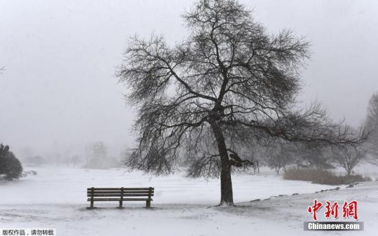 """这波北极低温已在各地造成""""冰害"""",包括爱荷华州的水塔结冰、纽约渡轮停驶以及发生多起民众误闯或跌入结冰池塘或湖泊的意外。"""