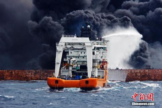 现场图。<a target='_blank' href='http://www.chinanews.com/'>中新社</a>发 上海海上搜救中心供图