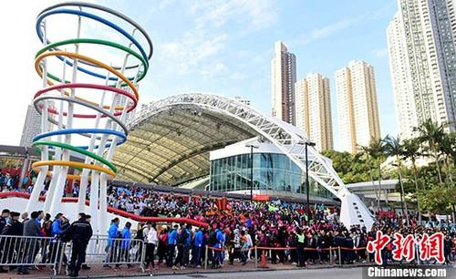 资料图:香港大球场。中新社记者 徐冬冬 摄