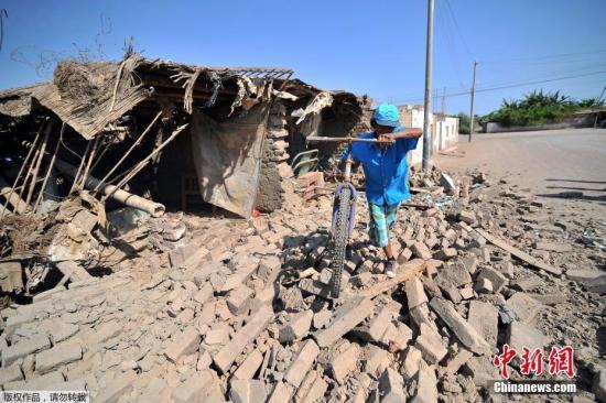 据秘鲁国家应急行动中心消息,秘鲁南部地区港口均正常运营,未受到地震影响,但主要公路交通线南泛美公路部分路段被毁,救援人员正在抢修。
