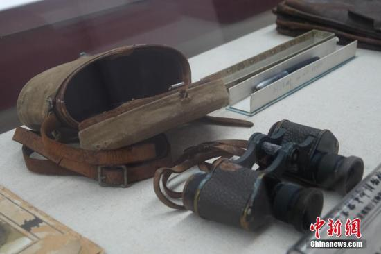 资料图:金寨县革命博物馆。 中新网记者 李雨昕 摄