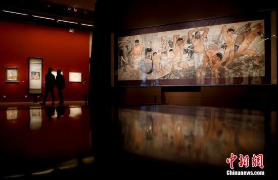 徐悲鸿精品巨作集中展示 领衔中国美术馆