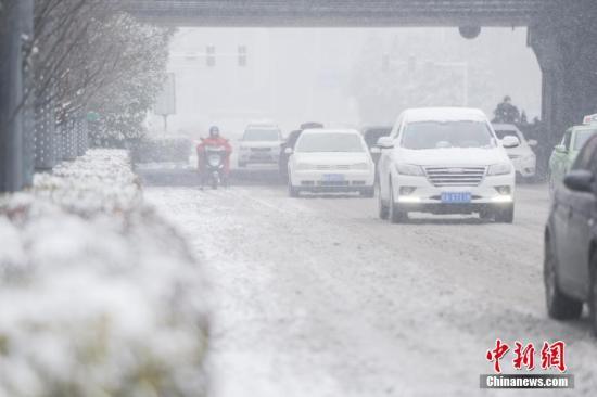 中东部大范围雨雪冰冻天气 安监总局发布预警信息