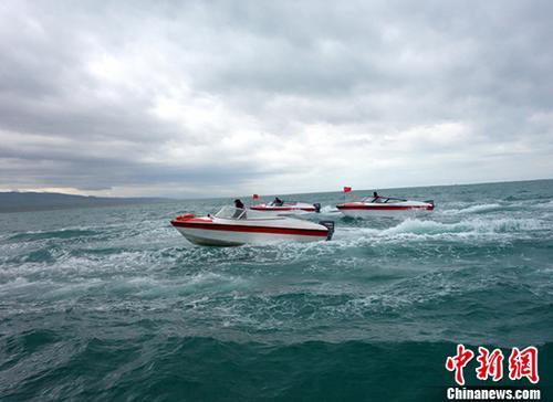 青海湖资料图。 <a target='_blank' href='http://www.chinanews.com/'>中新社</a>记者 孙睿 摄