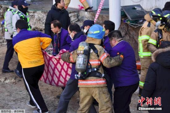 据韩联社报道,当地时间1月26日上午7时30分,韩国庆南密阳市世宗医院发生火灾。