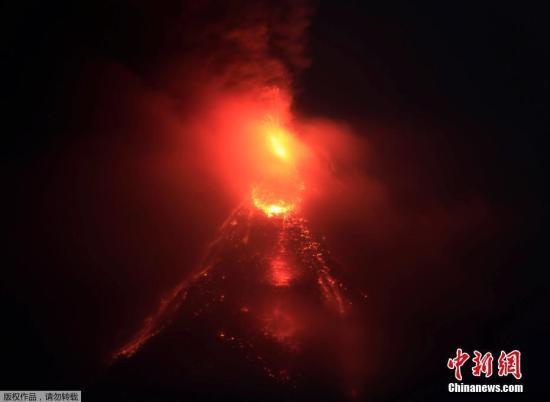 �Y料�D:菲律�e�R�s火山。