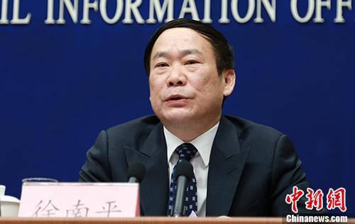 资料图:徐南平。 中新社记者 杨可佳 摄