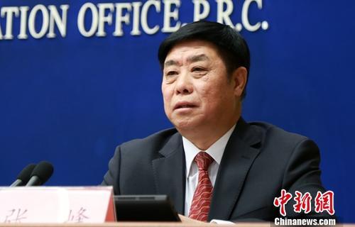 资料图:工业和信息化部总工程师张峰。中新社记者 杨可佳 摄