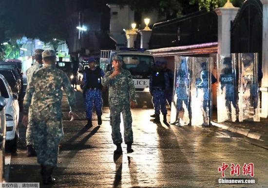 资料图:北京时间2月5日晚,马尔代夫总统亚明宣布全国进入紧急状态。
