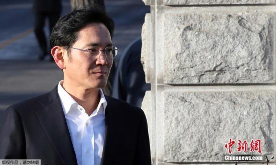 资料图:韩国三星集团会长李在�F。