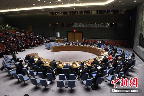 资料图片:连系国安分析集会会议现场。 /p中新社记者 马德林 摄