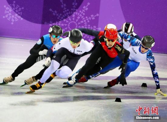 顶住压力 中国男子短道速滑5000米接力晋级决赛