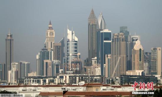 当地时间2018年2月11日,阿联酋迪拜75层356米高的The Gevora酒店当日开业。