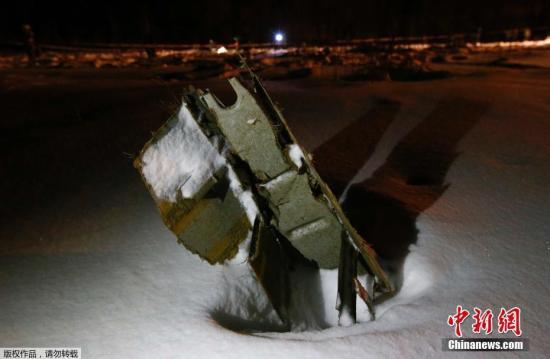 俄安148客機墜毀或因空速管結冰所致
