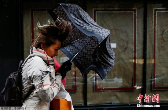 冬季风暴袭击美国东北部预计将影响4500万人