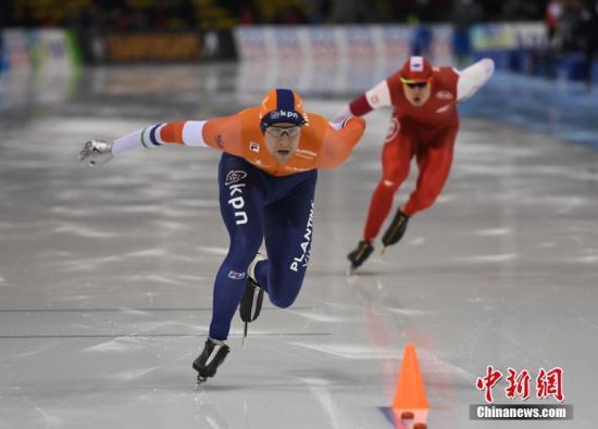 金沙国际棋牌娱乐:速滑短距离世锦赛_挪威荷兰名将分摘男女全能冠军