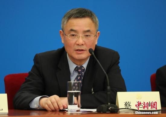 资料图:蔡达峰。中新社记者 泱波 摄