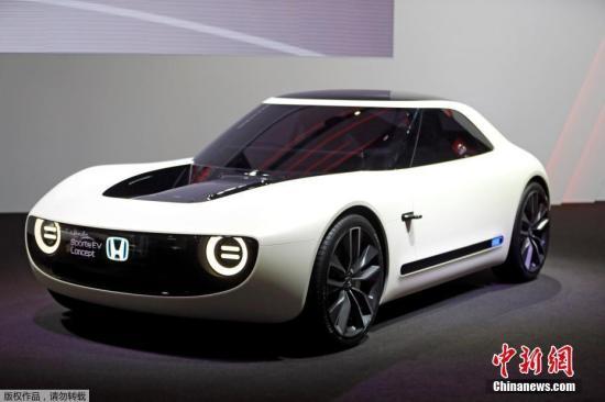本田的Sports EV概念车。