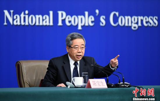 资料图:中国教育部部长陈宝生。中新社记者 侯宇 摄