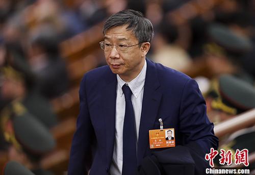图为易纲。  <a target='_blank' href='http://www.chinanews.com/'>中新社</a>记者 杜洋 摄