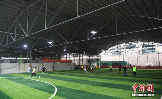"""发改委:企业可参与足球场地建设 不搞""""点球式""""支持"""
