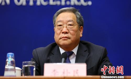 国家发改委秘书长李朴民。中新社记者 杨可佳 摄