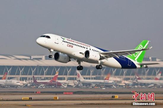 金沙手机版网址:全国性航空产业集群加速成型_C919订单望破千架