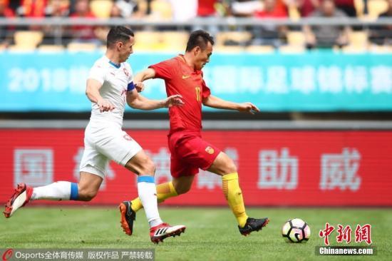 资料图:范晓东代表国家队比赛中。 图片来源:Osports全体育图片社