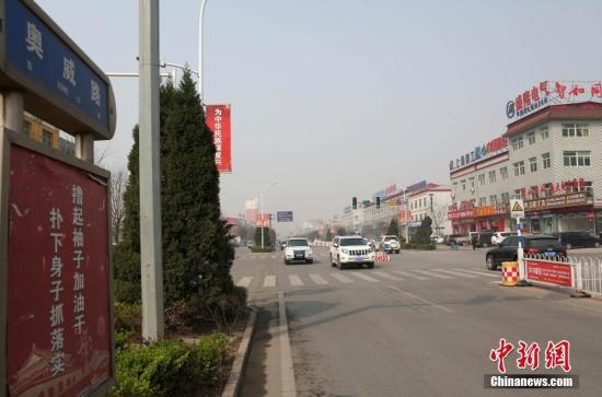 奥威路街景。 韩冰 摄