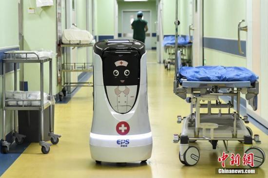 资料图:广州建成首个智慧医院,高科技服务病患。中新社记者 陈骥旻 摄