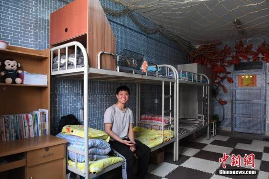 资料图:学生公寓。<a target='_blank' href='http://www.chinanews.com/'>中新社</a>记者 杨艳敏 摄