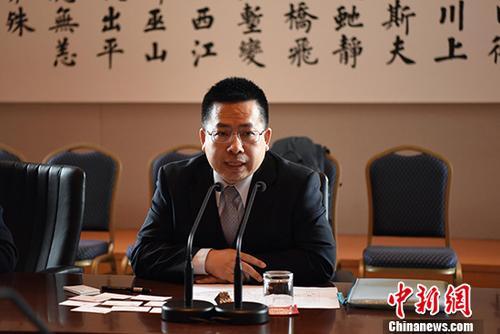 资料图:中国国际问题研究院副院长阮宗泽。 中新社记者 刁海洋 摄