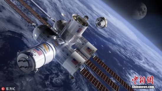 旅客可以自由自在地在空间站内漂浮,从空间站的窗户饱览地球南部和北部的极光。该酒店每隔90分钟绕地球一次,这意味着游客一天当中可以看到16次日出和日落。东方IC图片来源:东方IC 版权作品 请勿转载