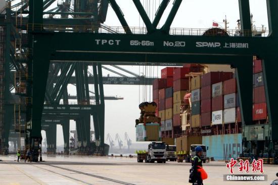 2018年天津口岸汽车零部件进口货值152.9亿元人民币