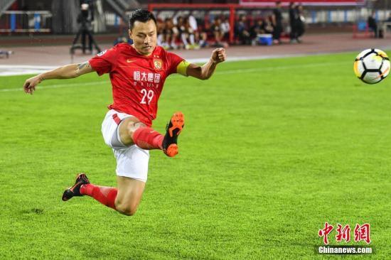资料图:恒大豪华的本土球员阵容,一直是称霸中国足坛的根本。记者 陈骥旻 摄