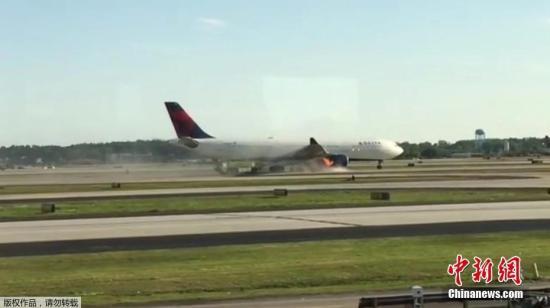 资料图片:达美航空客机。