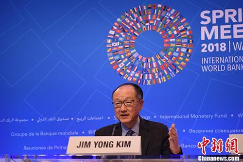 原料图:世界银走走长金墉。 中新社记者 刁海洋 摄
