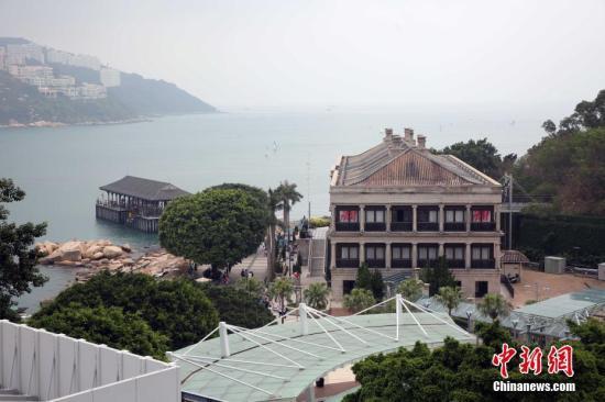 资料图:香港岛赤柱。中新社记者 洪少葵 摄