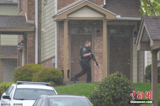 美国田纳西州枪击案嫌犯被警方逮捕 包内藏有手枪