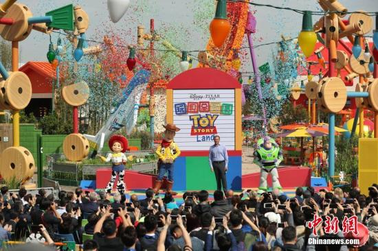 资料图:上海迪士尼。<a target='_blank' href='http://555bxg.com/'>中新社</a>记者 张亨伟 摄
