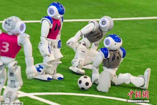 资料图:人工智能机器人。