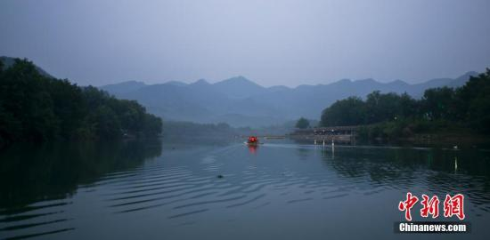 This file photo shows the Yongan River in Zhejiang Province. (Photo/China News Service)