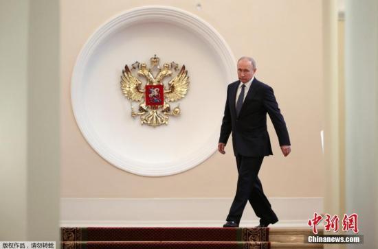 俄罗斯当选总统普京就职典礼于莫斯科时间5月7日中午12时(北京时间17时)开始
