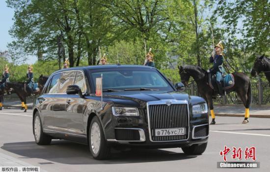 资料图片:俄罗斯总统普京的新专车。