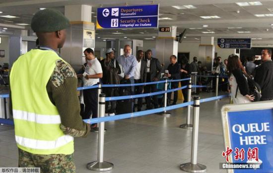 资料图:肯尼亚内罗毕乔莫·肯雅塔机场。
