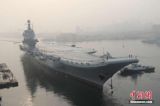资料图:中国首艘国产航母李刚 摄